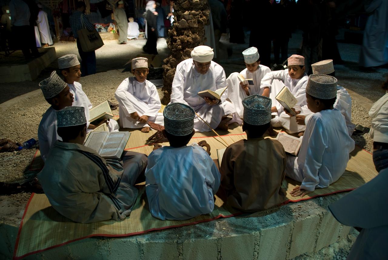 Teaching Koran in Muscat, Oman