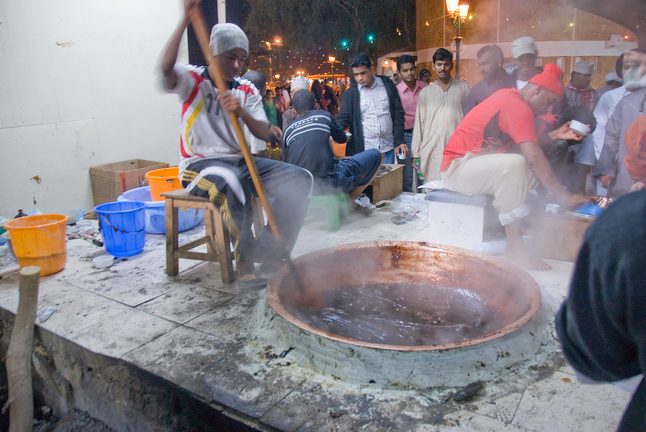 Making hawla in Muscat, Oman