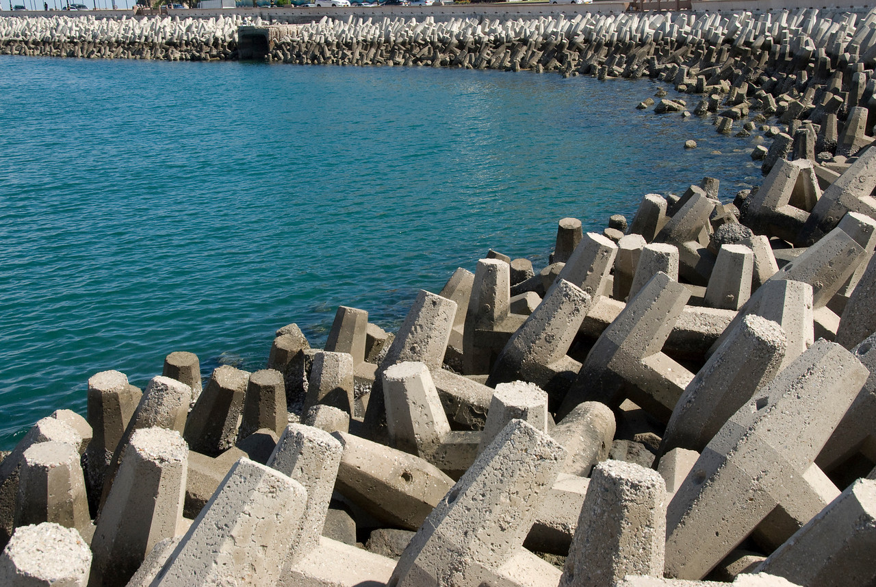 Cement Blocks Waterfront 1 - Muscat, Oman