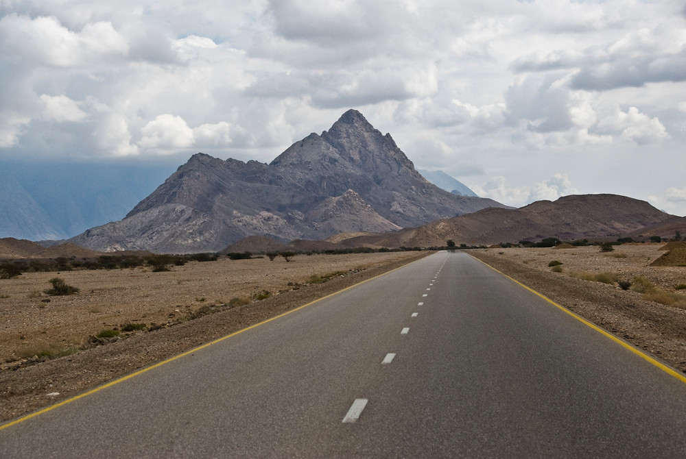 The Jebel Akhdar Mountains, Oman