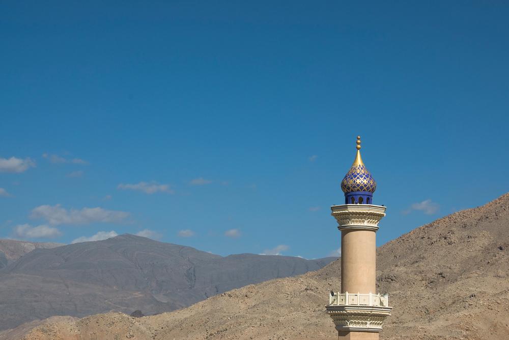 Minaret in Nizwa, Oman
