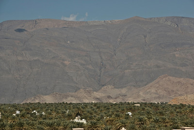 Nizwa Seen from Fort 4 - Nizwa, Oman