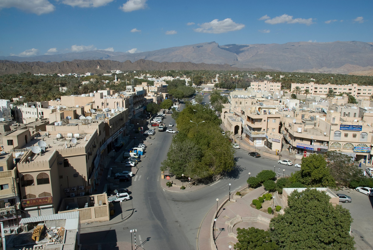 Nizwa Seen from Fort 3 - Nizwa, Oman