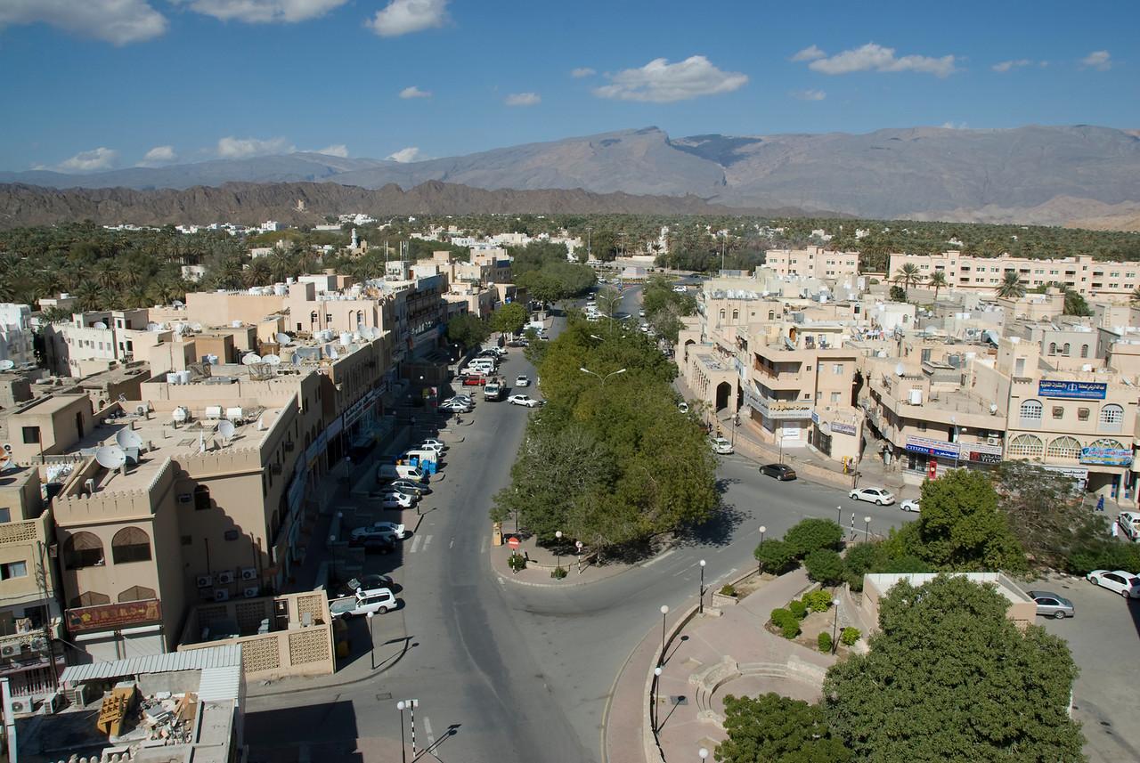 Nizwa Seen from Fort 3 - Nizwa, Oman