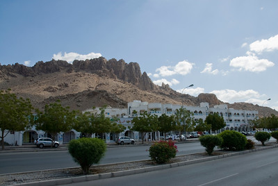 Outcrop Above City - Nizwa, Oman