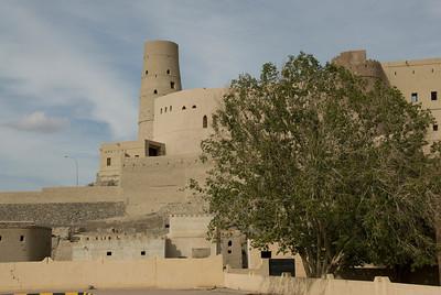 Bahal Fort in Nizwa, Oman