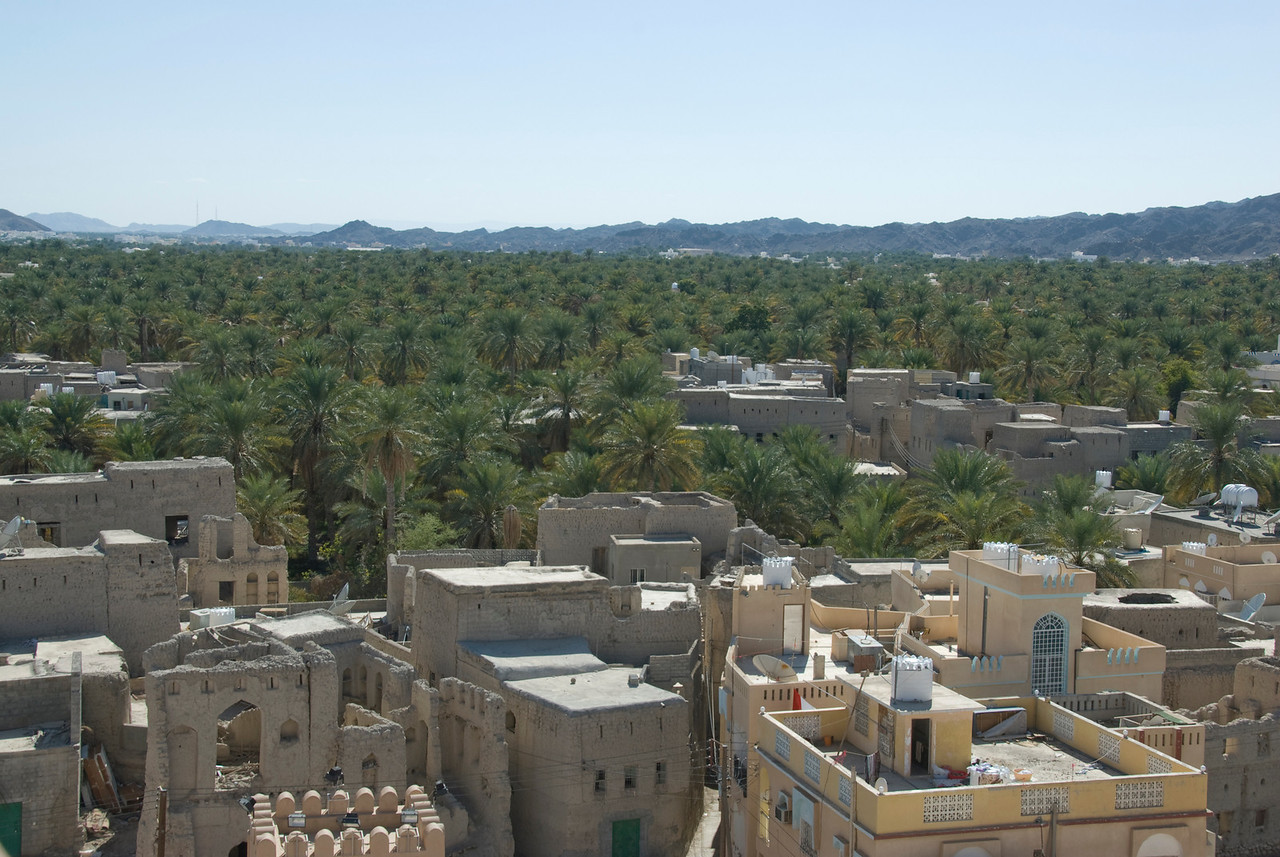 Nizwa Seen from Fort 2 - Nizwa, Oman
