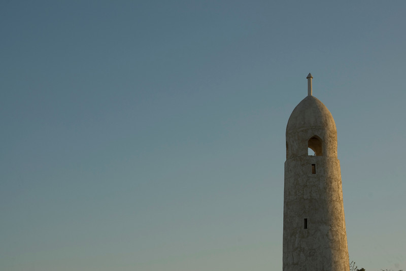 Minaret at Sunset- Doha, Qatar