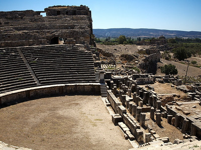The amphitheater at Melitos