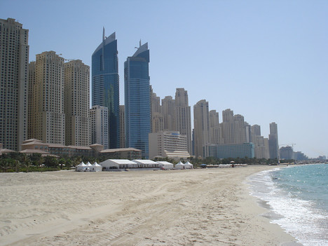 Jumeirah Beach Residence and Beach, Dubai - UAE