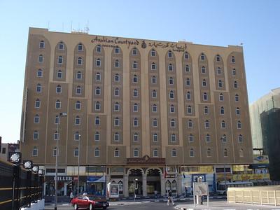 Arabian Courtyard Hotel, Bur Dubai, Dubai - UAE.