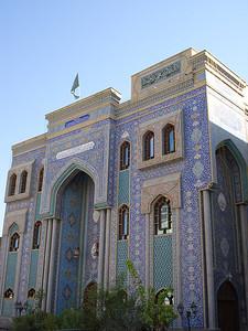 Iranian Mosque, Bur Dubai, Dubai - UAE.