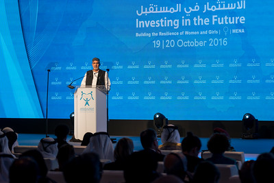 "OCTOBER 19-20, 2016 -IIFMENA, Sharjah, UAE ""Investing in The Future: Building the Resilience of Women and Girls in the Arab Region."" Hosted by UNwomen and the Big Hear foundation. The conference will take place in Sharjah, United Arab Emirates, on the 19th and 20th October 2016. The conference will bring together government representatives, international organisations, non-governmental organisations, gender equality practitioners and leaders, academics and other experts from the region and beyond to review and discuss the advancement made of women and girls and the importance to ensure a sustainable approach to development and humanitarian programming that maintains resilience of women and girls at the core."