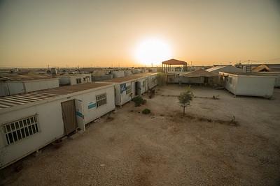 October 4, Za'atari Refugee Camp in the North of Jordan, home to over 80,00 Syrian Refugees.  Oasis 1  Copyright: UNWomen / Christopher Herwig