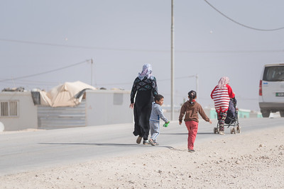 Zaatari refugee camp. Jordan
