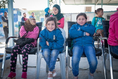 UNICEF - IMC Makaani cnter in Zaatari refugee camp hold a puppet show marking the start of 16 days of activism against gender based violence.