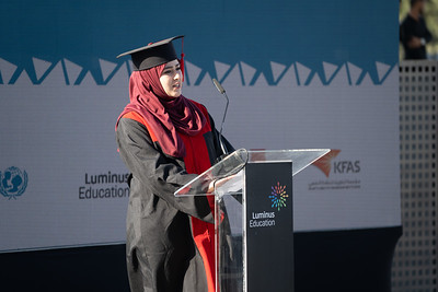 Over 400 UNICEF supported students graduate from the technical and vocational training programme at Alquds College #Amaluna. Amman Jordan, may 9 2018