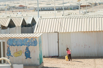 October 6, 2016: Unicef Makani youth centers in Azraq Refugee camp.