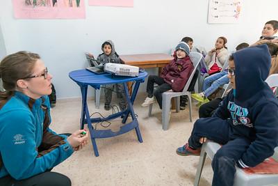 Norwegian Nat Com visit to Unicef Makani near Irbid, Jordan. February 20, 2017.