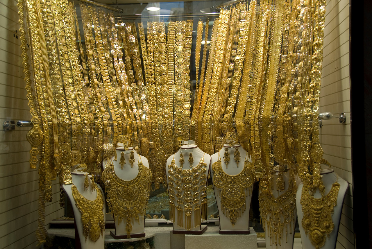 Display Case 2, Gold Souk - Dubai, UAE