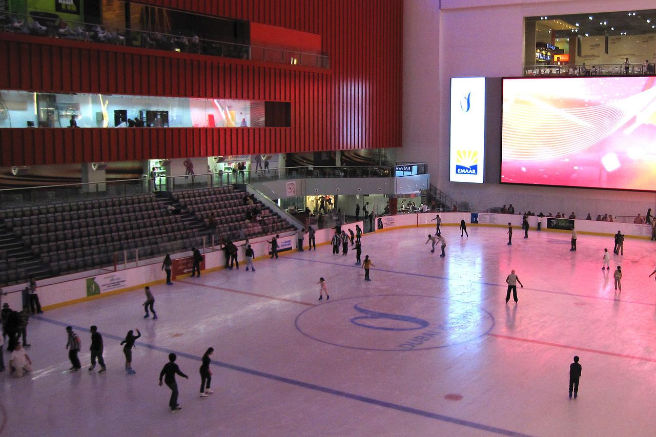 Ice Rink Mall of Dubai 2 - Dubai, UAE