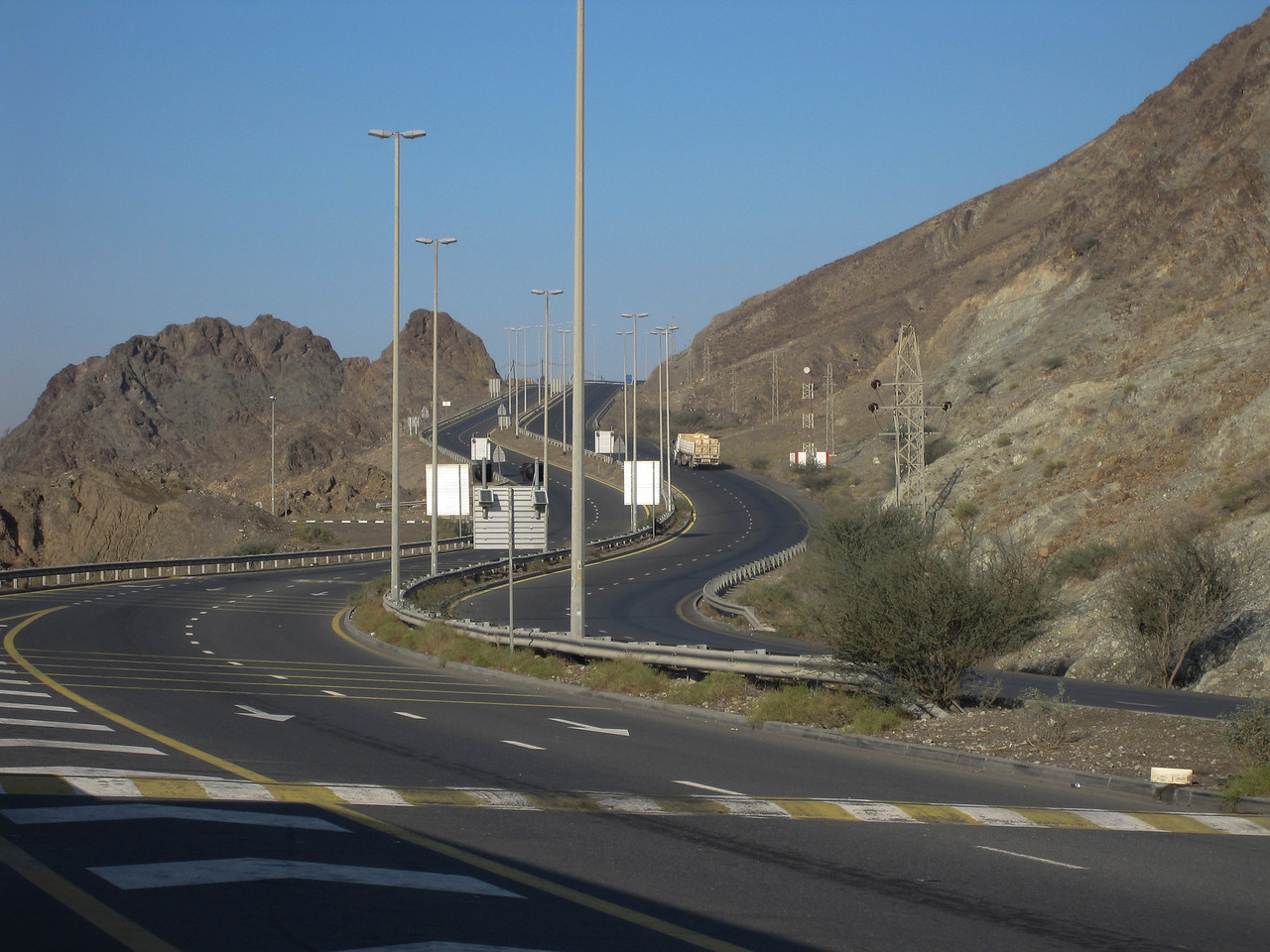 Rural Road - Dubai, UAE