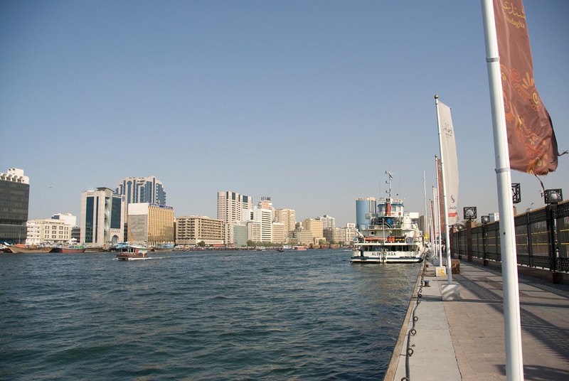 Creek and Skyline - Dubai, UAE