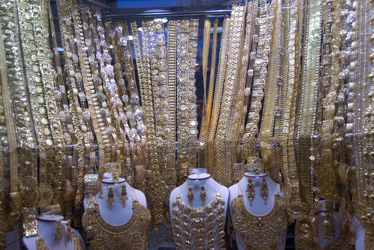 Display Case, Gold Souk - Dubai, UAE
