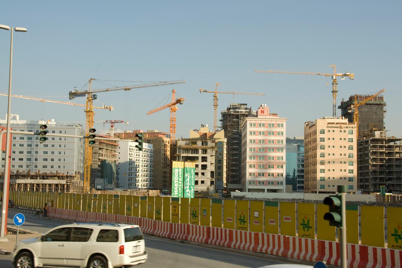 Construction Cranes 2 - Dubai, UAE