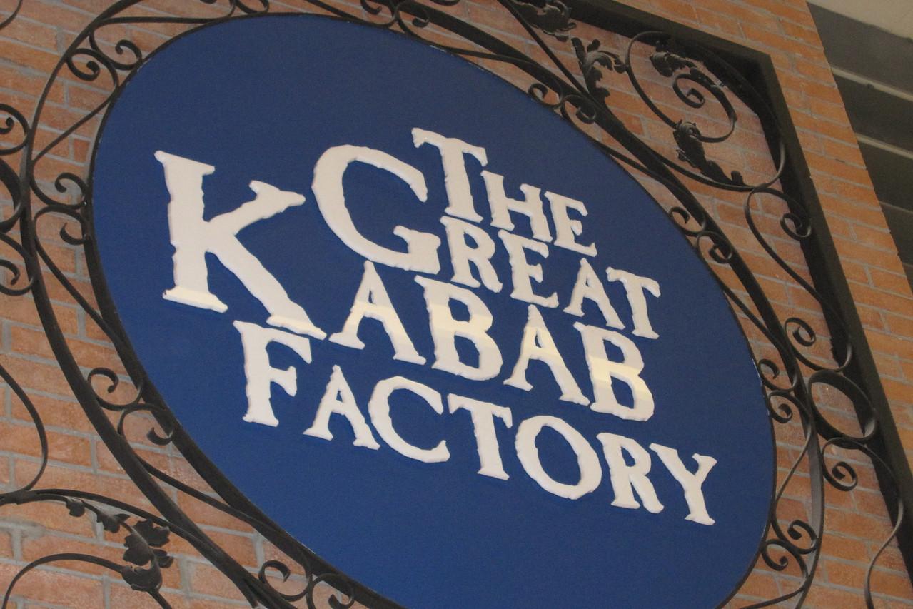 Kebob Factory Sign - Dubai, UAE