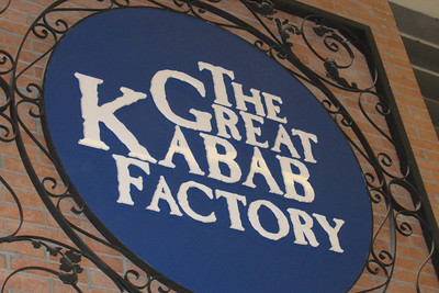 Kebob Factory Sign - Dubai, UAE