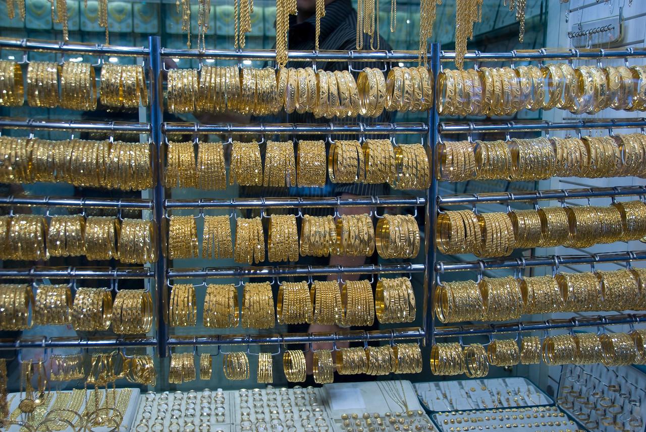 Display Case 3, Gold Souk - Dubai, UAE