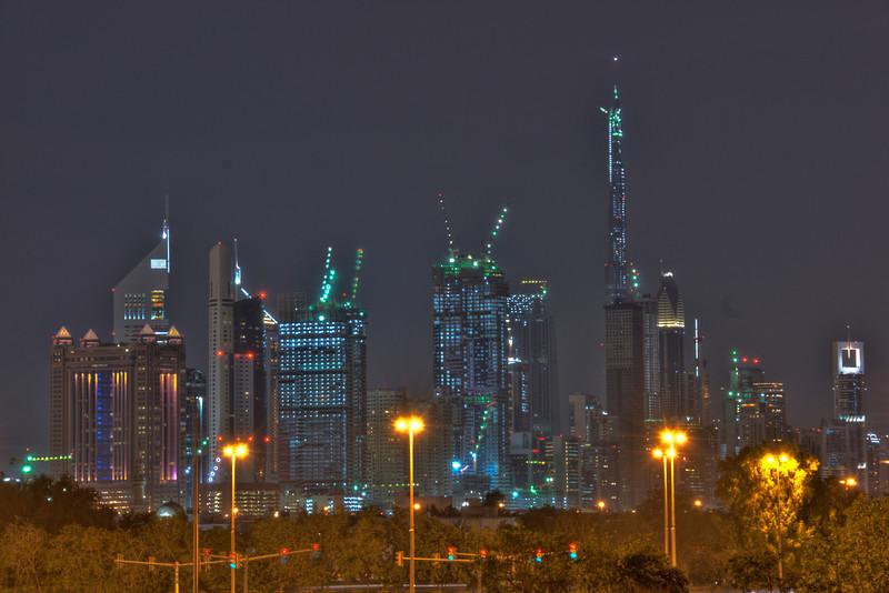 Dubai Skyline HDR 1