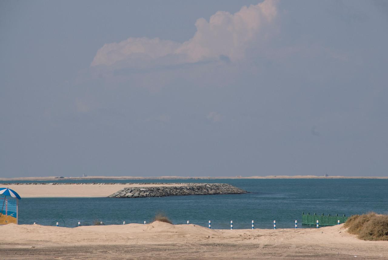 The World from Sea Level - Dubai, UAE