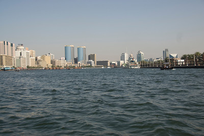 Creek and Skyline 2 - Dubai, UAE
