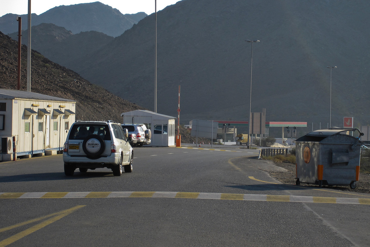 Oman Border Post - Dubai, UAE