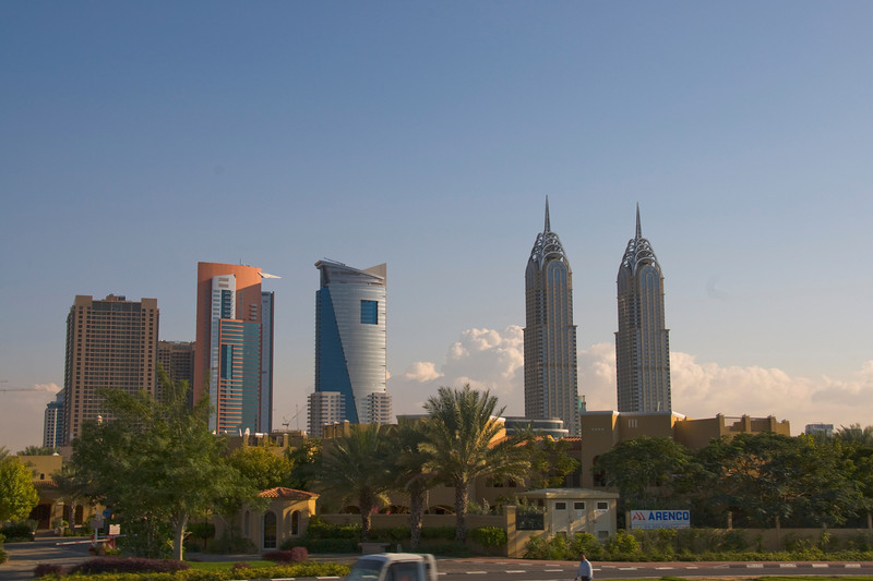 Skyline Near Palms - Dubai, UAE