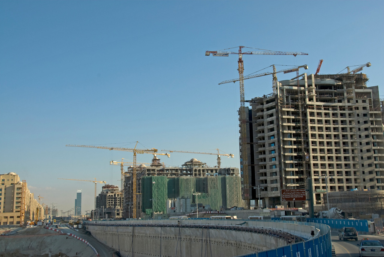 Construction Cranes - Dubai, UAE