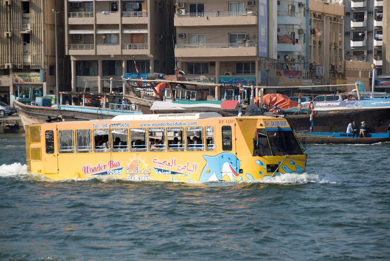 Floating Bus - Dubai, UAE