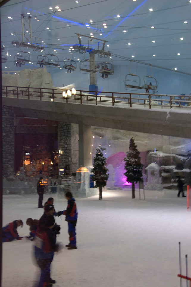 Indoor Ski Slope 1 - Dubai, UAE