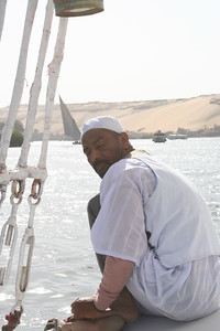 Felucca crew on The Nile