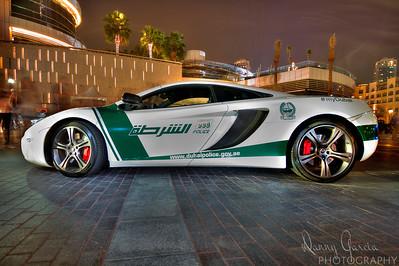 Dubai Police McLaren Police Car