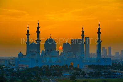 The Grand Mosque, Abu Dhabi, UAE