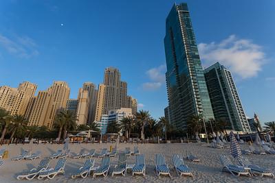Jumeirah Beach front, Dubai