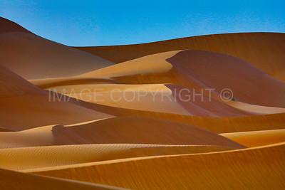 Sand Dunes of the Empty Quarter, UAE