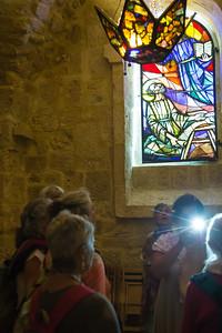 Choir singing, Church of the Holy Nativity, Bethlehem
