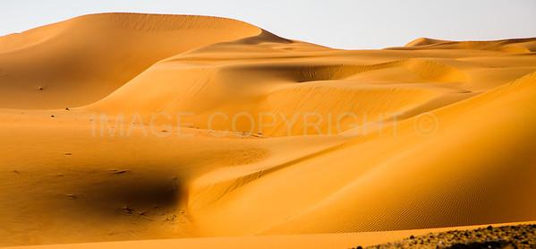 Sand Dunes in the Empty Quarter, UAE