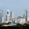 The skyline of Kuwait City