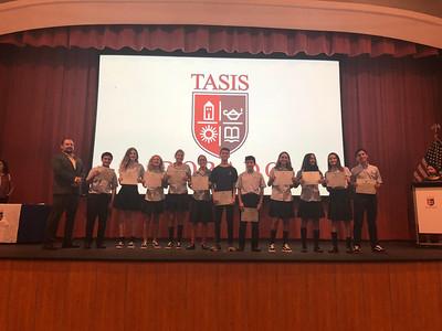 Middle School Academic Awards 2017-2018
