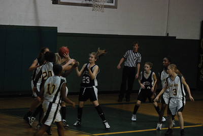 MS Basketball VS Gordo